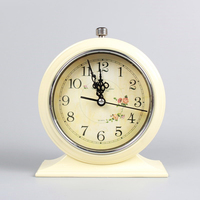 Luminous Europe Retro Clock Alarm Creative Bell Electronic Desk Clocks Bedside Vibrating Alarm Clock Kids Masa Saati Timer QKJ06