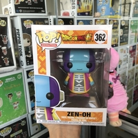 Exclusive Funko pop Official Animation Dragon Ball Super Zen Oh #362 Vinyl Action Figure Collectible Model Toy In Box