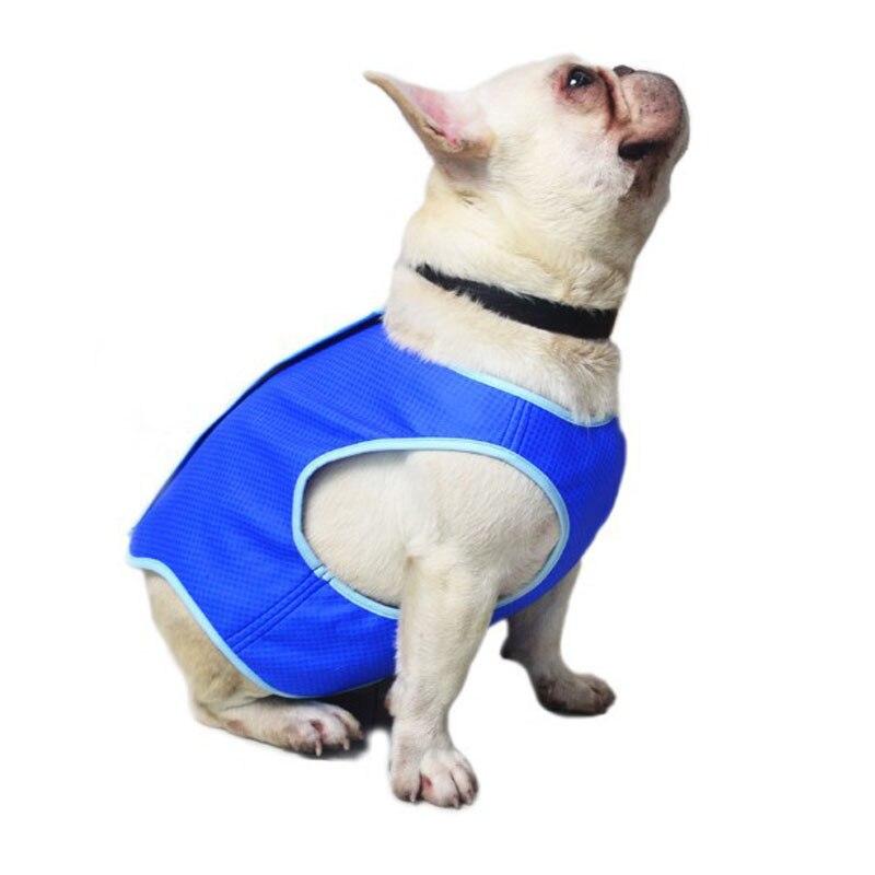 2019 Cooling Dog Vest Summer Blue Pet Puppy Dog Cat