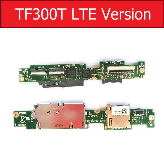 US $18 99  Genuine LCD Connector Board For ASUS Transformer TF300T LTE/WIFI  Version Lcd Display Screen Connect Jack Board Repair Parts-in Tablet LCDs