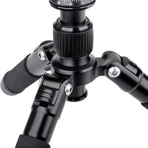 Image 4 - Xiletu FM5S MINI 軽量 alluminum 三脚卓上ミニ旅行スタンド三脚 360 度のボールヘッドのためのデジタルカメラ