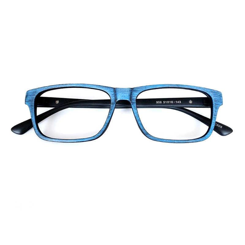 BCLEAR очки для мужчин и женщин унисекс деревянный узор модные ретро оптические очки для очков оправа для очков винтажные очки