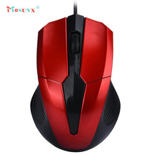 Ecosin2 Mosunx Fashion Design Hot Selling USB Wired Optical Gaming Mice Mouse For PC Laptop 17mar24