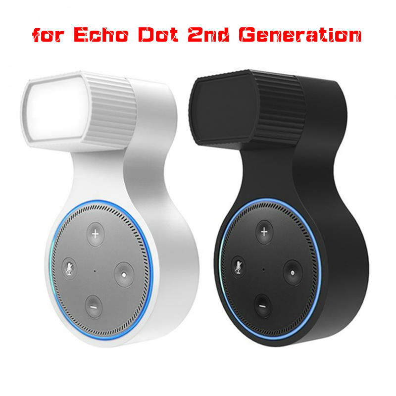 For Echo Dot 2nd Generation Wall Mount Hanger Stand For Round Smart Voice Assistants Speaker Holder Speaker Stand