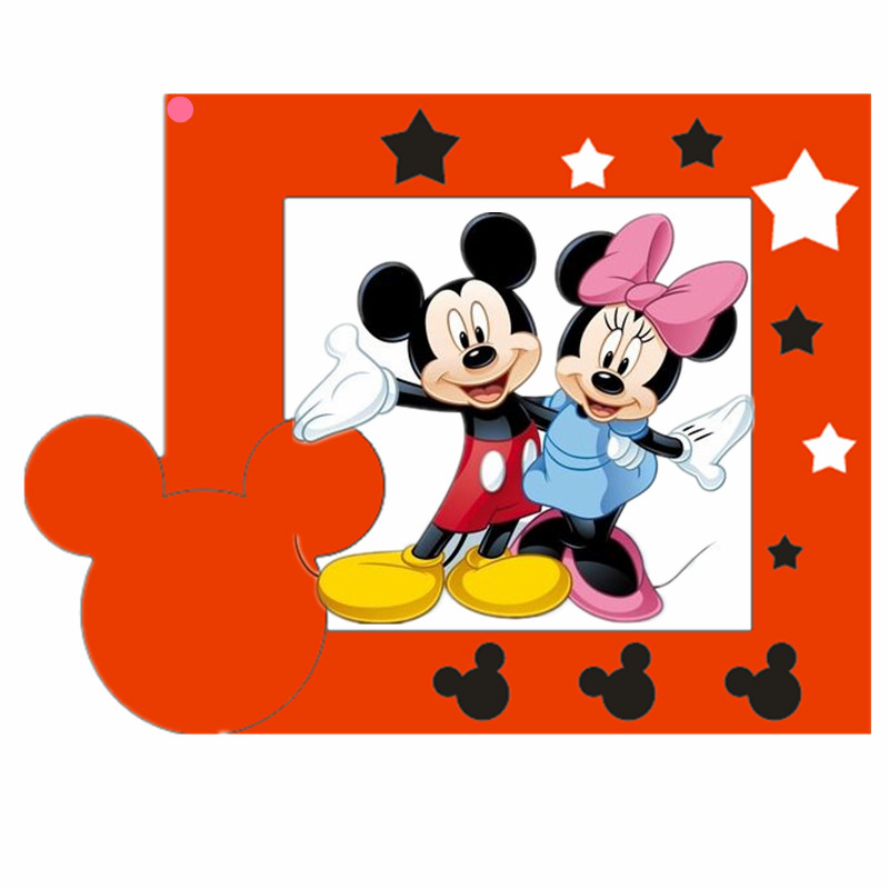 Mickey Minnie love Photo bow Ear Metal Cut Dies Stencils for Scrapbooking Stamp photo album Decorative Embossing DIY Paper Cards in Cutting Dies from Home Garden