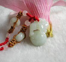 Long Yi jade Pixiu pendant lucky Wangcai jade jewelry will carry 8000217