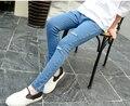 Ребенка весной детская одежда Корейские девушки джинсы штаны карандаш брюки для 3 Т-14 Т лет