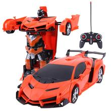 2 in 1 Wireless RC Car Model 4CH Remote