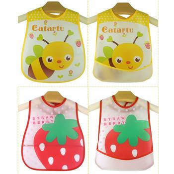 Śliniaki dla niemowląt wodoodporne Cartoon dzieci śliniaki dla niemowląt nowa odzież ręcznik kąpielowy dla dzieci odzież akcesoria dla dzieci na szelkach śliniaczek dla niemowląt tanie i dobre opinie Śliniaki i burp płótna Moda Unisex PMGZGLY Poliester