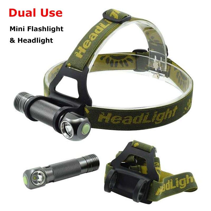 High Quality XPL V5 LED Headlight Headlamp Mini Flashlight White Light Camping Hunting Head Torch Lamp by 18650 Battery Lighting r3 2led super bright mini headlamp headlight flashlight torch lamp 4 models