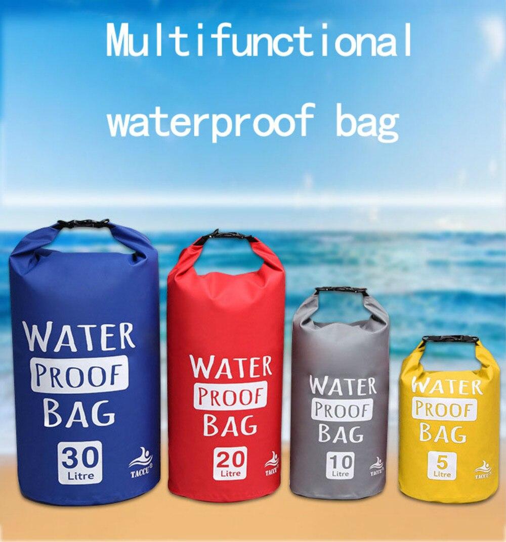 sacos balde à prova dbeach água praia
