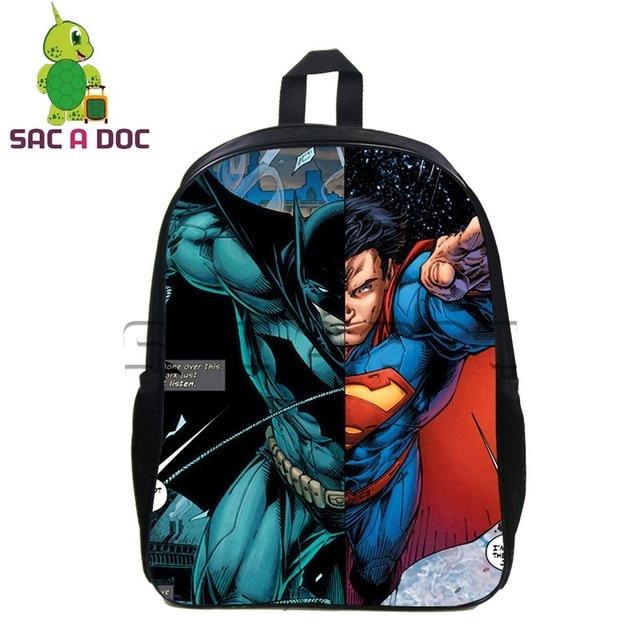 bc174a504981 Batman V Superman Backpack School Backpack Womens Mens Daily Backpack  Laptop Backapck Teens Super Hero School