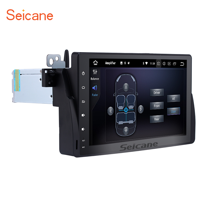 Seicane One Din Android 8.0 9