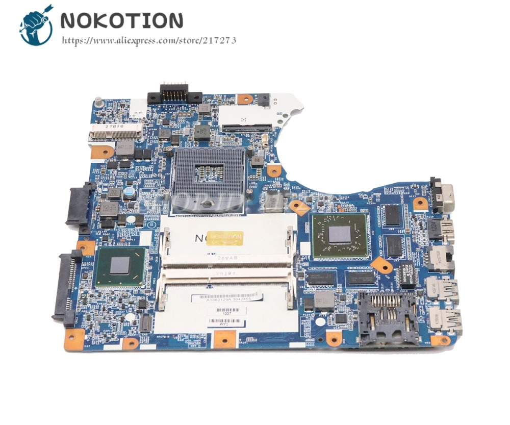 NOKOTION For Sony Vaio SVE14 SVE14A17ECW SVE14A Laptop Motherboard HM76 DDR3 HD7600M MBX-273 A1882129A Main Board