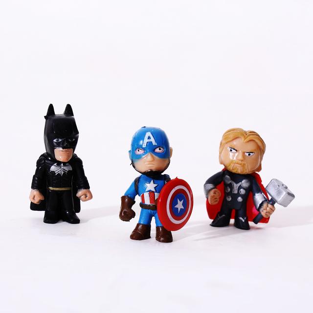 The Avengers Lego Miniatures Marvel 8/12pcs/lot