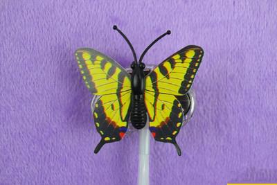 Led verlichting in je haar - Maakt aparte lichtgevende vlechten of staartjes - 4 stuks - gele flinder