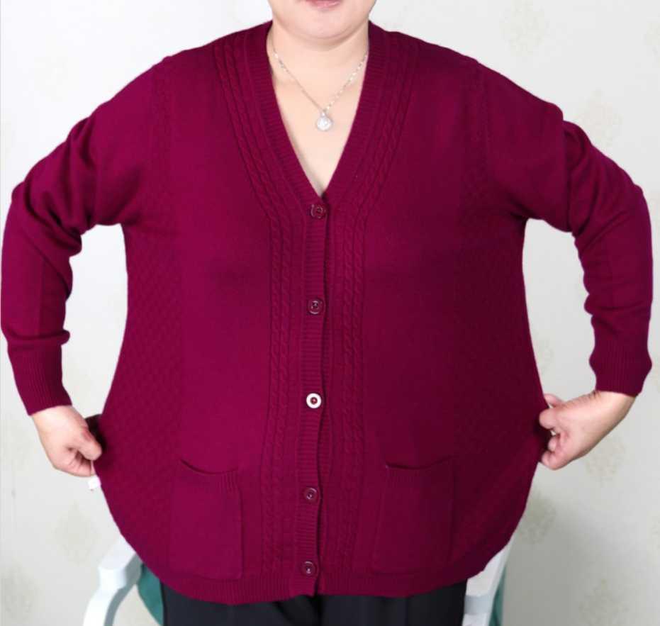 08c184e157b 2018 Plus Size Women Clothing 5XL 6XL7XL 8XL 9XL Large Size Middle Aged  Clothes Mother Cashmere