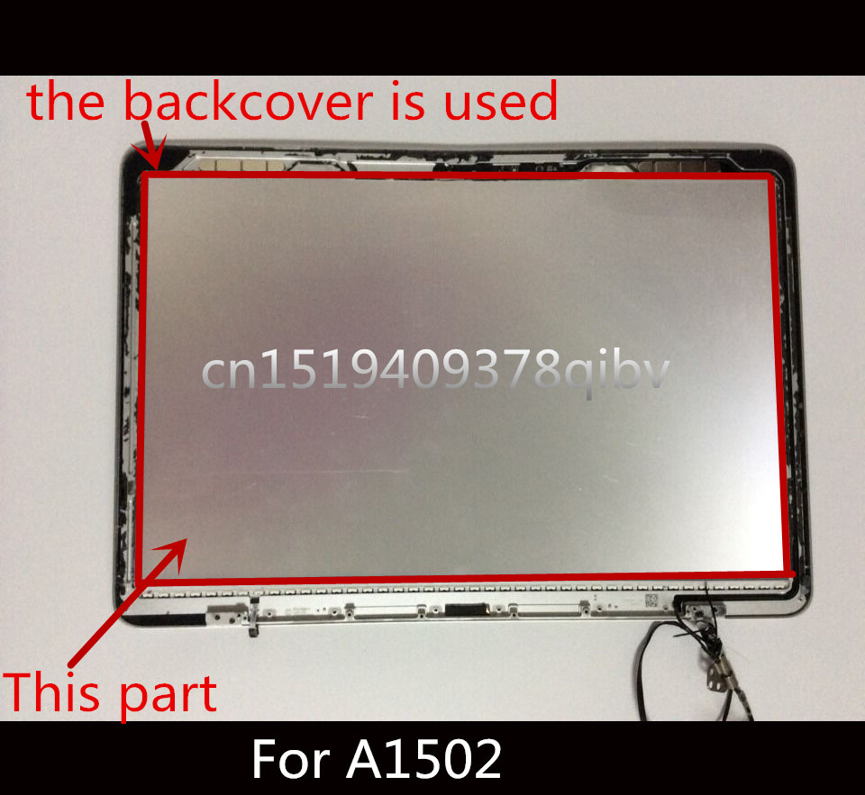 Genuine LCD LED Screen Display Backlight for Macbook Pro Retina 13 Laptop A1502 screen display back rear reflective sheets 5PCS new lcd led screen display backlight cd screen display back rear reflective sheets 5pcs for laptop macbook air 11 6 a1370 a1465
