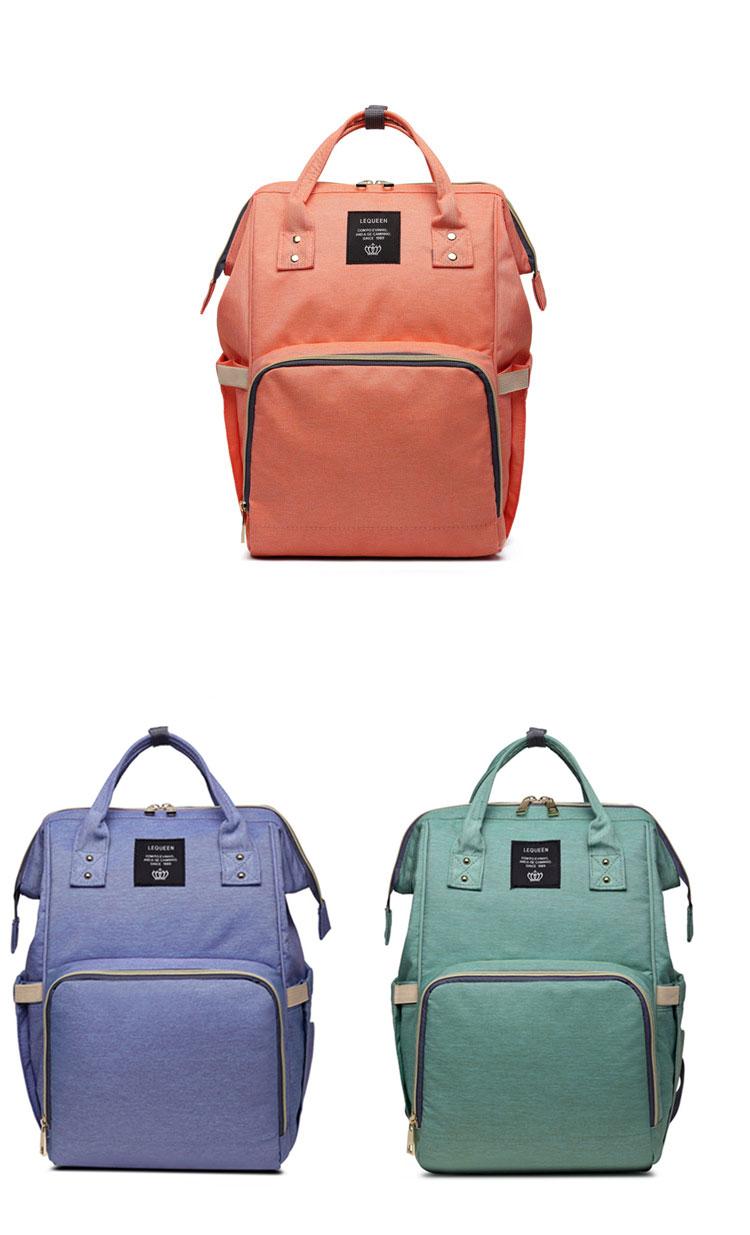 HTB14nEWqRjTBKNjSZFNq6ysFXXa3 Fashion Mummy Maternity Nappy Bag Large Capacity Baby Bag Travel Backpack Nursing Bag for Baby Care Nappy Hand Bag