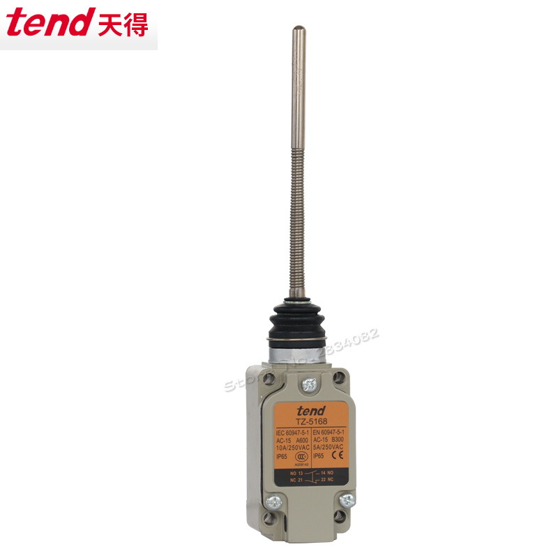 Limit Switch NONC 10A 250VAC Metal Roller Wheel arm momentary Travel Switch IP65 Waterproof TZ-8108 New Spring Return