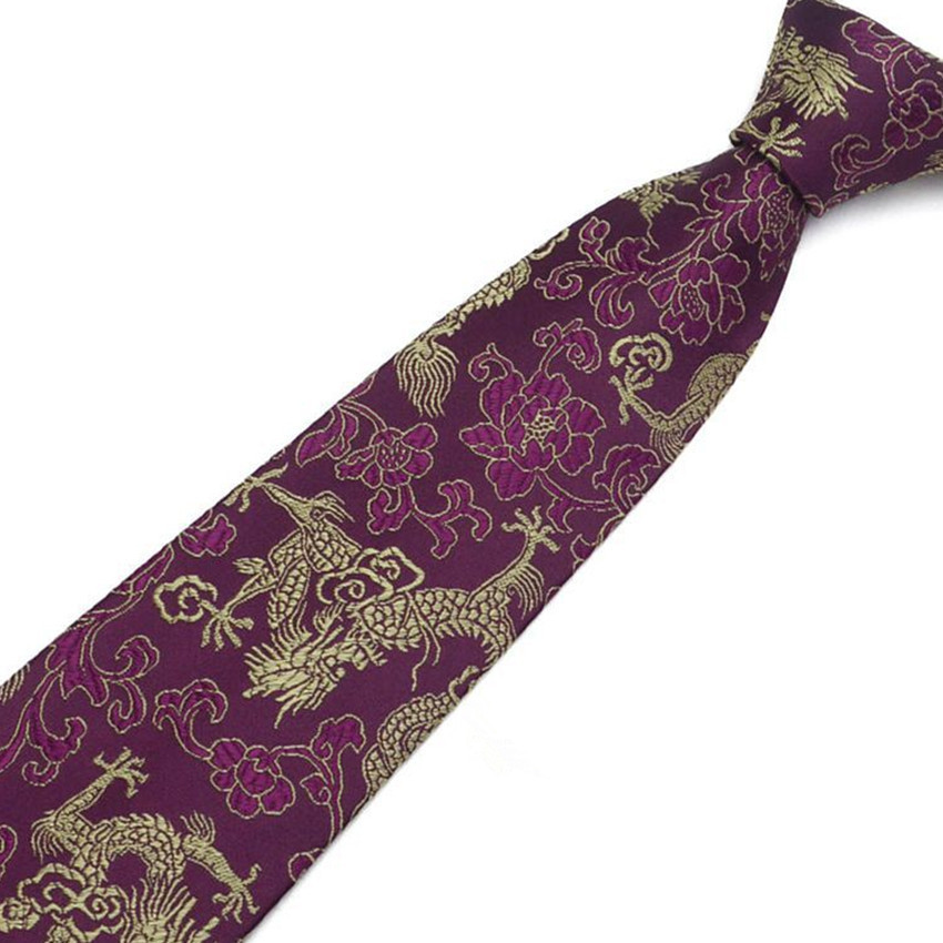 145*8cm Men Necktie Floral Wedding Business Ties Male Costume Accessories Flower Pattern Tie Cotton Tie MC186715