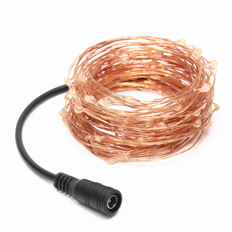 10M 20M 30M 40M 50M LED String Light Fairy DC12V Copper Wire For Party Christmas Wedding Holiday Decoration Garland Lahore