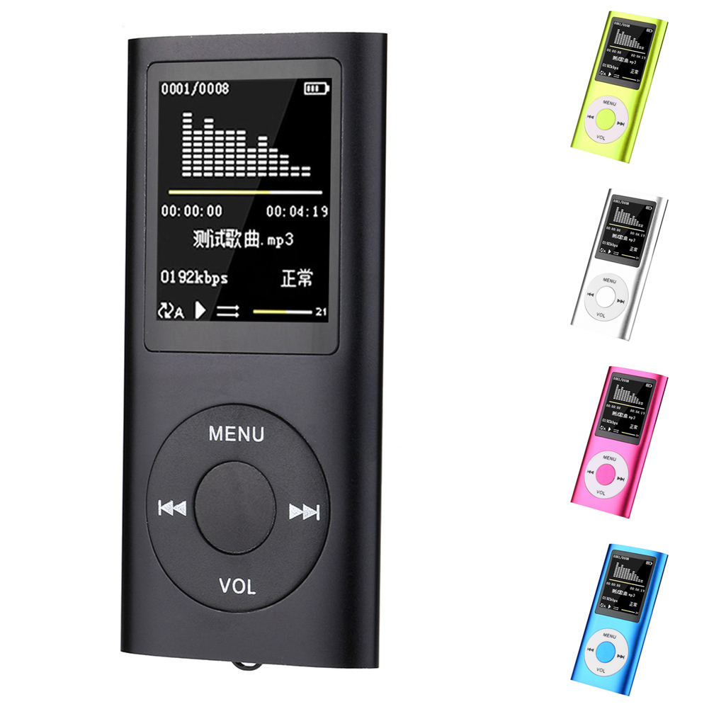 1.8 inch MP4 Player 16GB 32GB Music Player MP3 Player FM Radio Video image