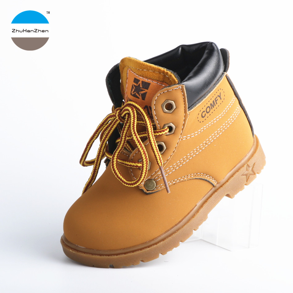 2019 high quality kids fashion boots 1 to 5 years old baby boy and girl martin boots winter keep warm children cotton boots