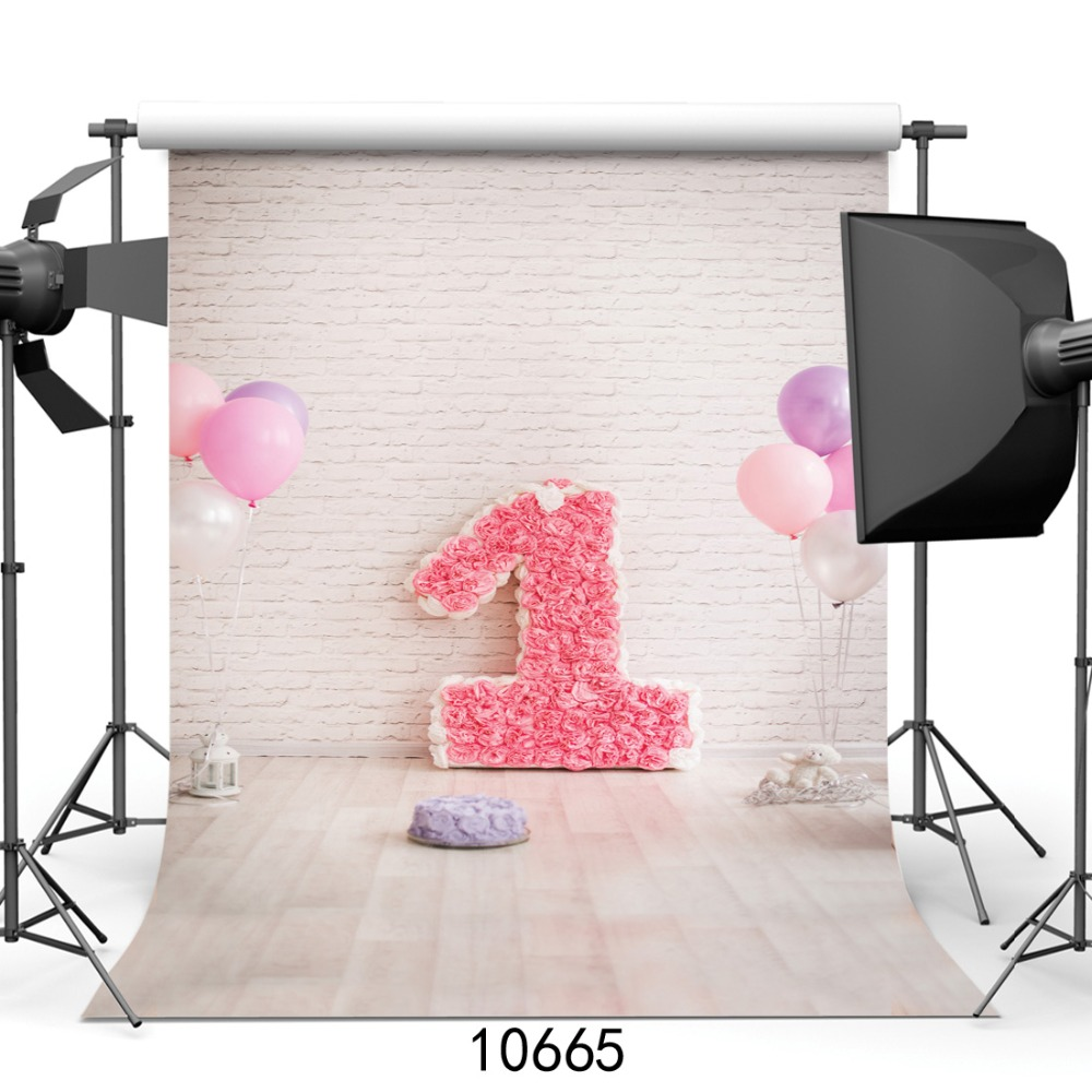 5x7ft Customize Vinyl cloth Photography Backdrop computer Printing Children's birthday background for photo studio