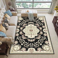 New! Beautiful European Style Carpet Exquisite Delicate Pattern Bedside Blanket Large Rugs Living Room Bedroom Hotel Floor Mat