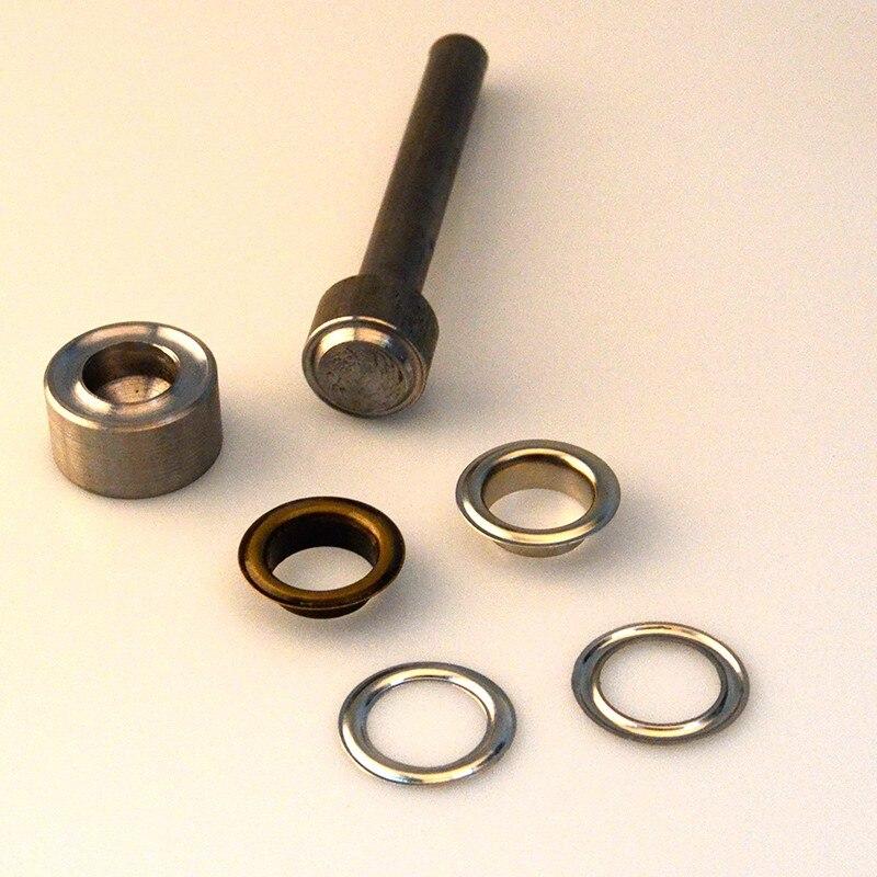Herramienta de ajuste de ojales redonda de 1 pulgada (25mm)-in Piezas y accesorios para bolsos from Maletas y bolsas    1