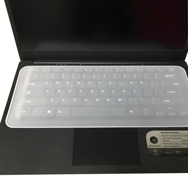Gorąca sprzedaż uniwersalny silikonowa osłona klawiatury skóry do laptopów akcesoria 13-14.1 Keyboard pokrowce na asus rog dla macbook