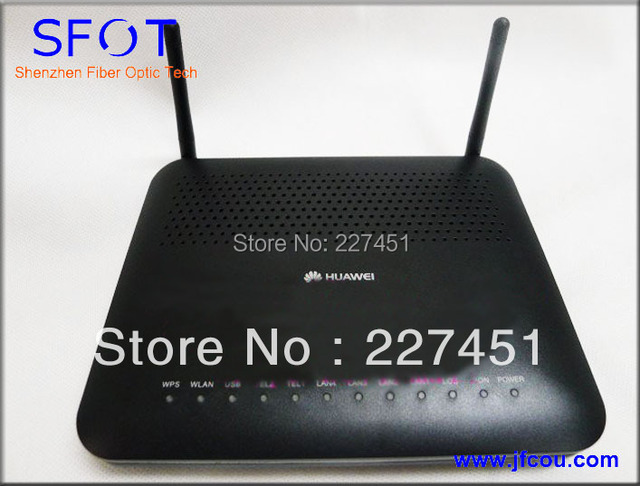 ONU Echolife HG8245 Epon optical network Terminal apply to FTTH ONT. 4FE+ 2Voice + Wifi.English System