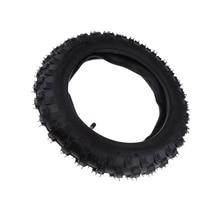 Черный 2,50x10 резиновый скутер шины мотцикл шины внутренняя труба для CRF50 XR50 PW50 Peewee надувной электрический скутер шины