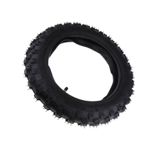 Preto 2.50x10 borracha scooter pneu motrcycle tubo interno para crf50 xr50 pw50 peewee scooter elétrico inflável pneu