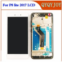 For Huawei P8 Lite 2017 LCD Display Touch Screen Digitizer Assembly Replacement Glass Panel For Huawei