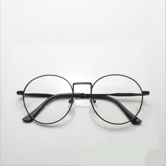 4c9ce2a1006f3 Novo de alta qualidade antique retro rodada óculos armação de metal  armações de óculos redondos do