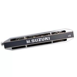 Image 5 - Suzuki SCX 56 C Series Chromatic Harmonica Chính của C 56 Brass Tháp Mười 14 Lỗ Chuyên Nghiệp Chất Lượng Cây Đàn Hạc Nhật Bản Nhạc Cụ