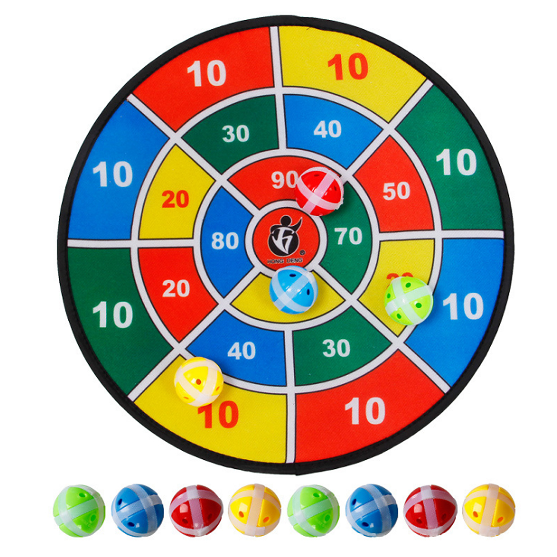 Children Indoor Outdoor Sport Toys Parent-child Game Safety Flannelette Dart Board With Balls Educational Toys cool educational toys dump monkey falling monkeys board game kids birthday gifts family interaction board game toys for children