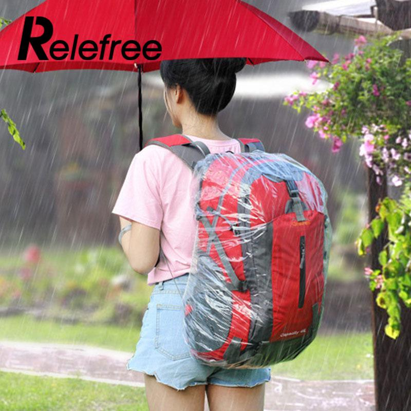 Relefree Outdoor Disposable Large Bike Bag Cycling Backpack Mountain Bicycle Waterproof Rain Dust Proof Cover Travel Raincover