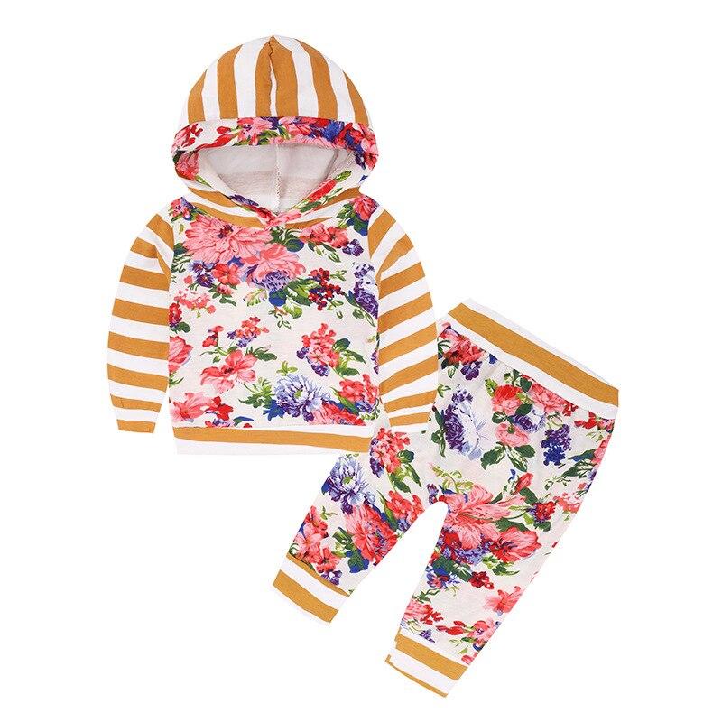 Детские топы с капюшоном Топ и штаны Леггинсы для женщин 2 шт. детская одежда с рисунком милых животных комплект теплые наряды олень для мале...