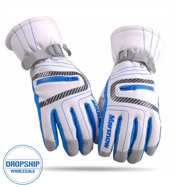 Высокое качество лыжные перчатки непромокаемые теплые унисекс хоккейные перчатки зимние уличные спортивные Горные лыжи сноубордические перчатки для женщин детские