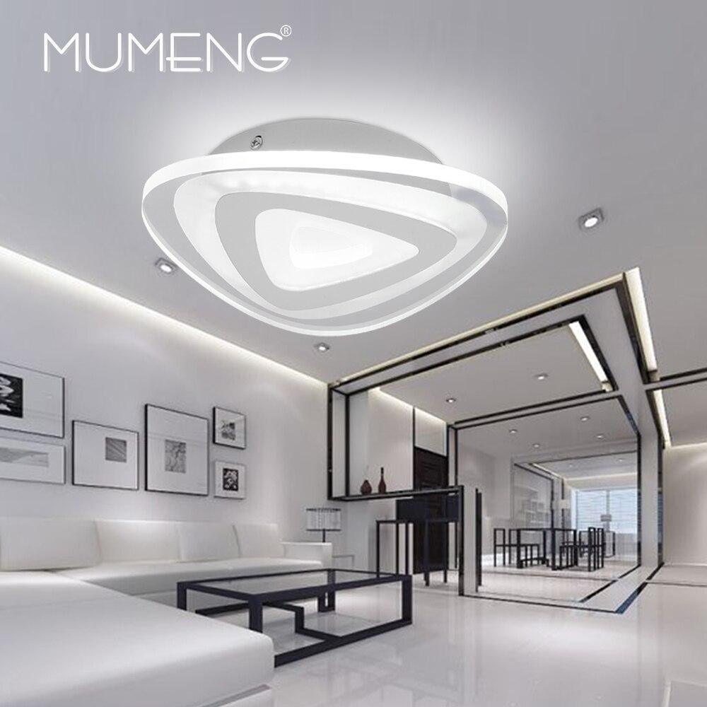 MUMENG Acrylic LED Ceiling Light Modern Ceiling Lamp 42W 220V Indoor Bedroom Living Room Kitchen Decoration Light Fixture Lamp