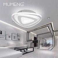 Mumeng акриловые светодиодный потолочный светильник современный потолочный светильник 42 Вт 220 В indoor Спальня Гостиная Кухня украшения светиль