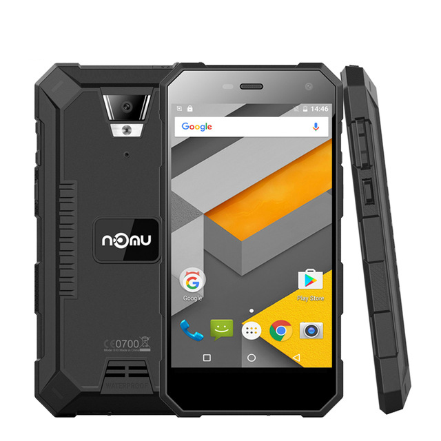 Nomu S10 IP68 Waterproof Quad Core 2GB RAM 16GB ROM MTK6737T Android 6 0 8 0MP