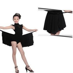 Image 4 - 女の子ダンスドレス子供のダンス衣装サルサタンゴ社交ダンスのためのドレスセクシーなドレス