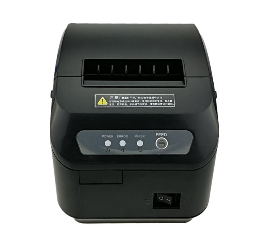 En gros haute qualité pos imprimante 80mm reçu thermique petit billet code à barres imprimante automatique machine de découpe imprimante - 3