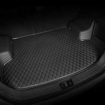 HeXinYan Custom Car Trunk Mats for Hyundai santa fe ix25 solaris ix35 accent veloster sonata elantra tucson Genesis Veracruz i30 цена 2017