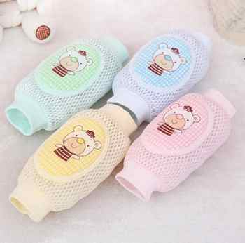 Baby Knee Pads Leg Warmers Cotton Safety Crawling Elbow Cushion Baby Childish knee Protectors for Children Kids - DISCOUNT ITEM  5 OFF All Category