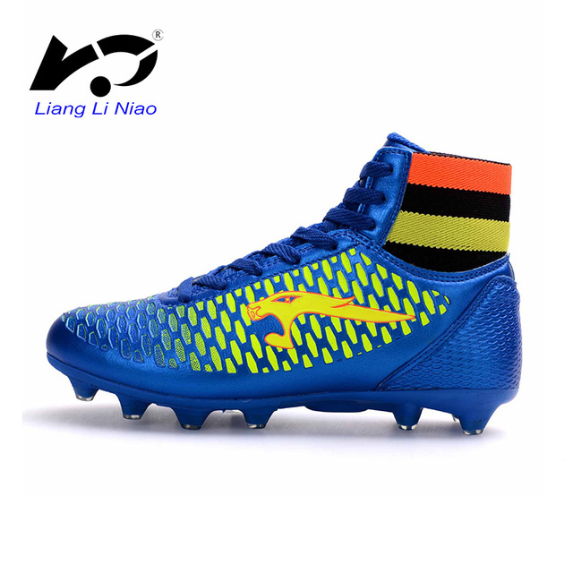 2017 Men Soccer Shoes Boys Kis Professional Sock Football Boots High Top Soccer  Cleats Superfly Original Futsal botas de futbol d6fa42ad004